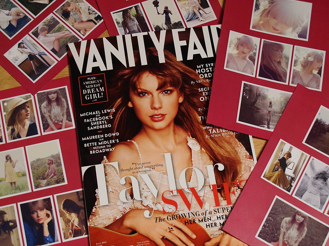 Taylor Swift on Vanity Fair cover & with my