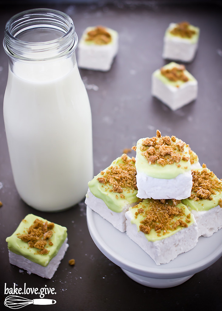 Key Lime Pie Marshmallows