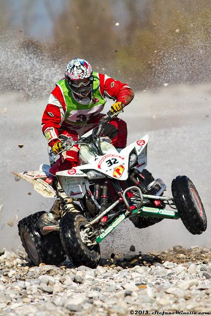 Stefano Biscontin (ITA) - Yamaha 450YZF [20th Italian Baja]