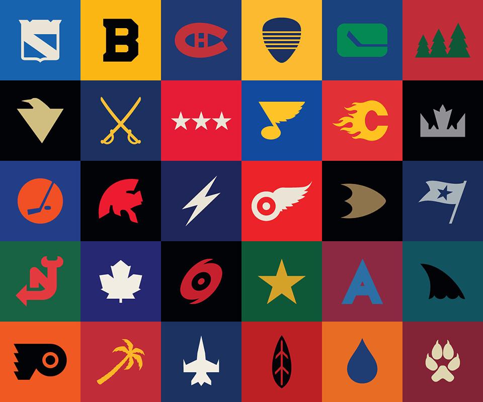 Nhl Team Logos 2013 Redesign of Nhl Team Logos