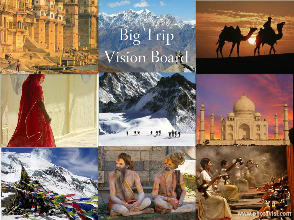 Slide 2 Big Trip Vision Board