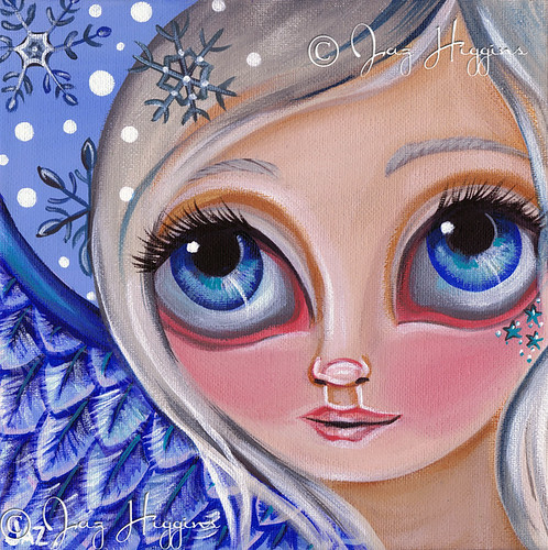 """Winter Dreaming"" Painting"