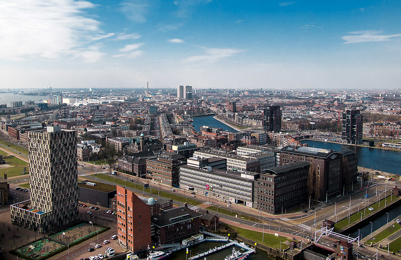 View from the Euromast - Rotterdam