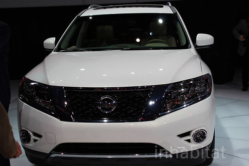 AAMCO - Nissan Pathfinder Hybrid 2014 at the New York Auto Show
