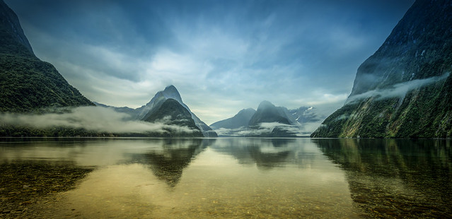 that funky sound | milford sound, new zealand