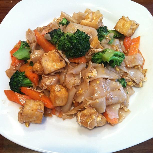 今天的午餐:#豆腐#padseeew