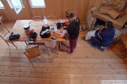 Marelisi log cabin in Georgia