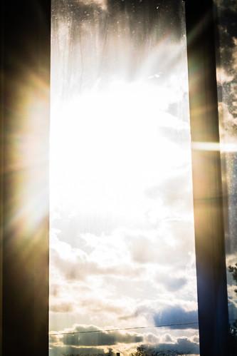 sunset sun glare unitedstates michigan monroe flare frenchtown hdr