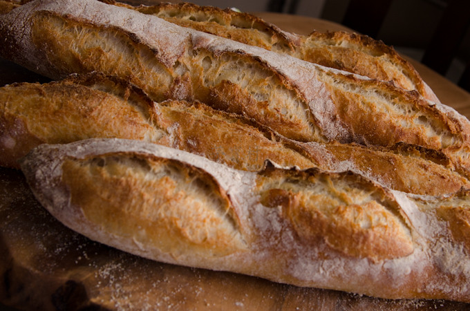 Poolish Baguettes Recipe — Dishmaps