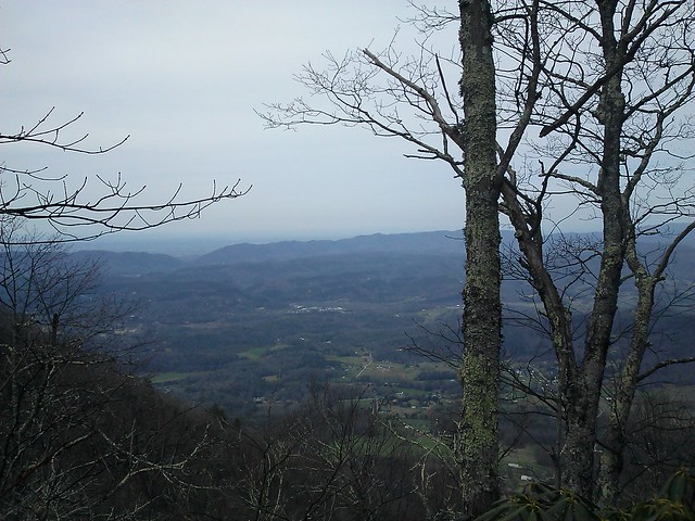 view of townsend (indian grave gap trail)
