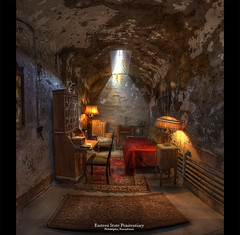 Al Capones cell, Eastern State Penitentiary, Philadelphia, Pennsylvania