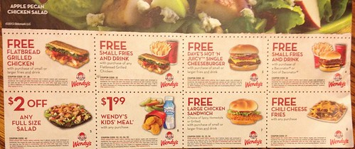 image relating to Wendy's Printable Coupons called Wendys Archives - The Clients Apprentice