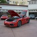 NEW 2014 Porsche Cayman S 981 FIRST PICS in Beverly Hills 90210 Guards Red 1188