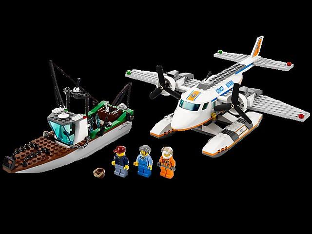 LEGO City 60015 - Coast Guard Plane