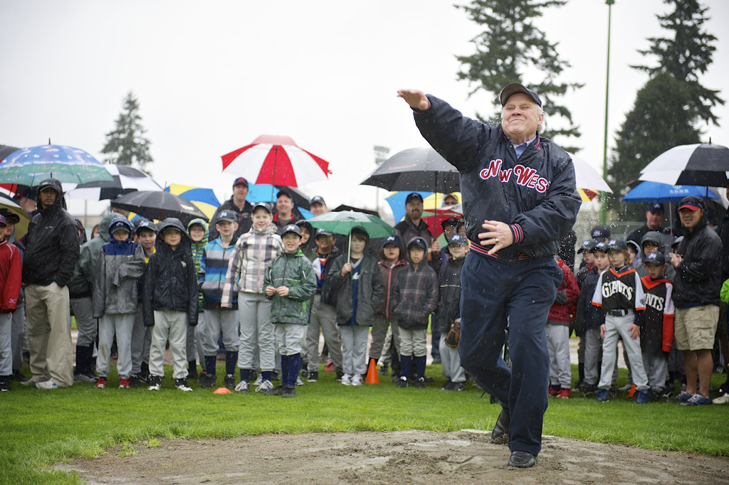 New Westminster Little League - Opening Day Mayor 2013