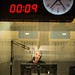 Scott Simon readies for the first broadcast from NPR's new HQ in Studio 31. Photo: Stephen Voss / for NPR