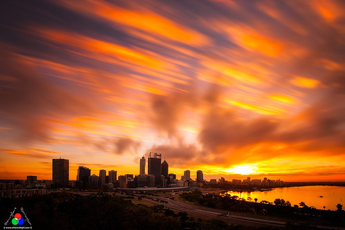Perth sunrise, Australia. by Douglas Remington - Ethereal Light® Photography