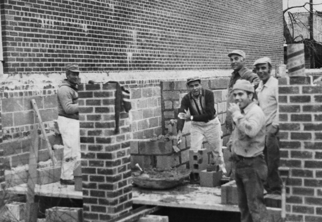 1976 1977 70s Italian Bricklayers Boro Park - Bensonhurst Brooklyn
