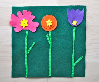 Flower Buttoning Board
