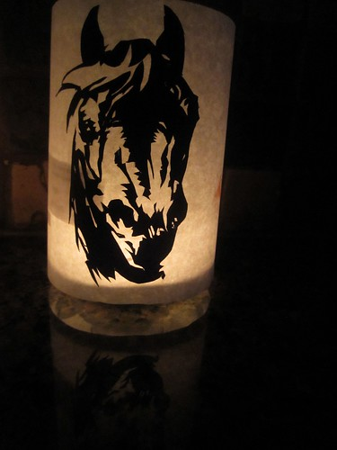 black stallion lantern by Rakka