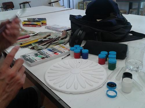 Brincando de ser pintora?