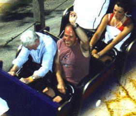 Papaw rides The Voyage