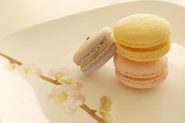 【春季限定】 Sakura Macarons
