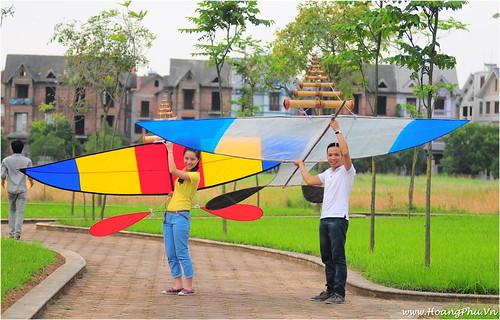 Người mẫu diều: Vân Anh và Hoàng Phú