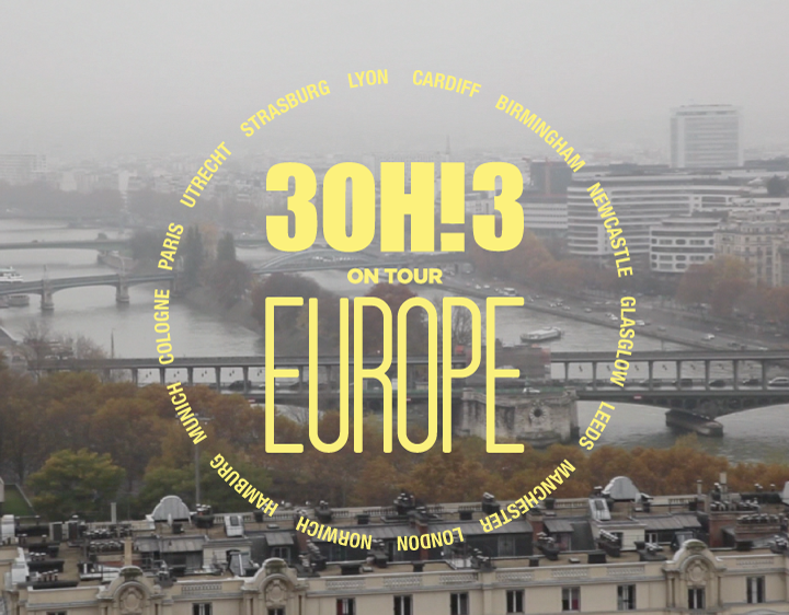 3OH!3 Europe Tour Mini Doc