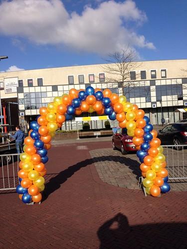 Ballonboog 6m Gemeente Oud-Beijerland