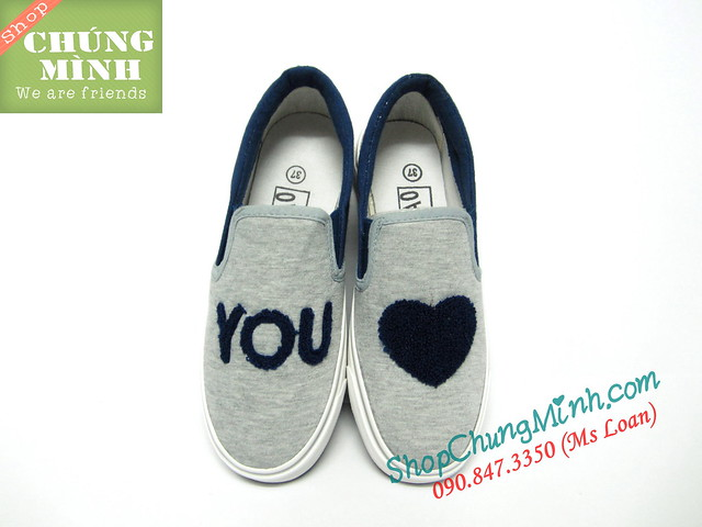 Giay van nu Love u (2)