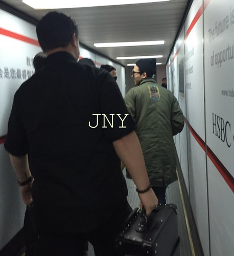 Big Bang - Fuzhou Airport - 29mar2015 - G-Dragon - jenny35 - 01