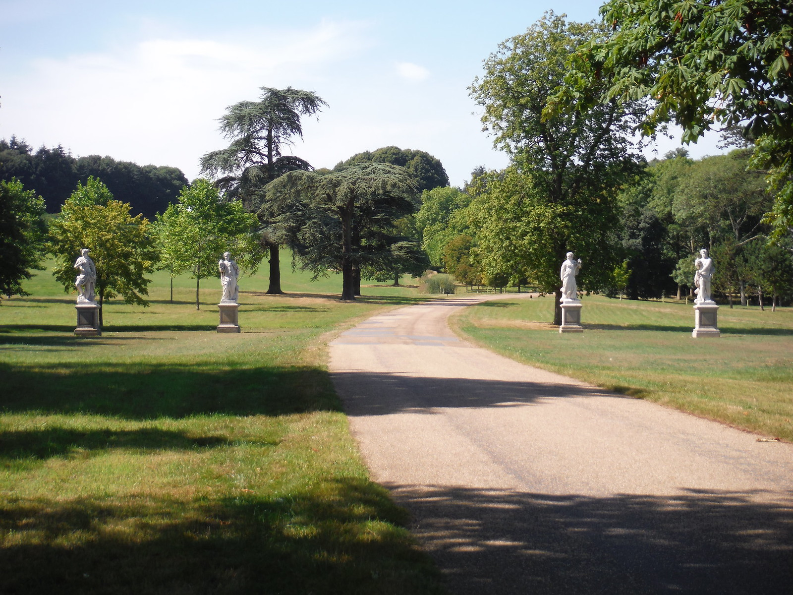 The Four Continents, Giacomo Cassetti, Waddesdon Estate Road SWC 192 Haddenham to Aylesbury (via Waddesdon)