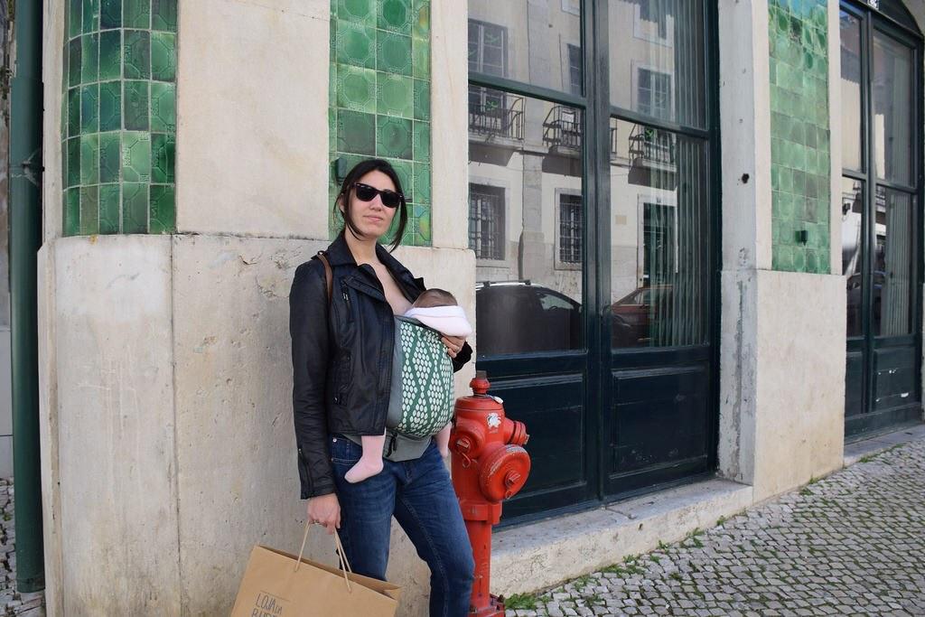 A ir de compras por terrenos irregulares como las calles de Lisboa...