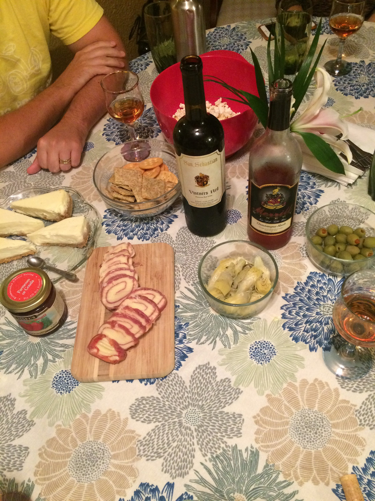 Sweet Wines Paired with Both Savory and Sweet Snacks 2