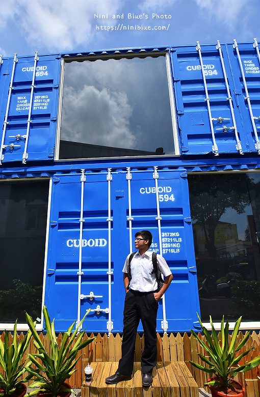 Cuboid台中人氣貨櫃冰飲藍色貨櫃11