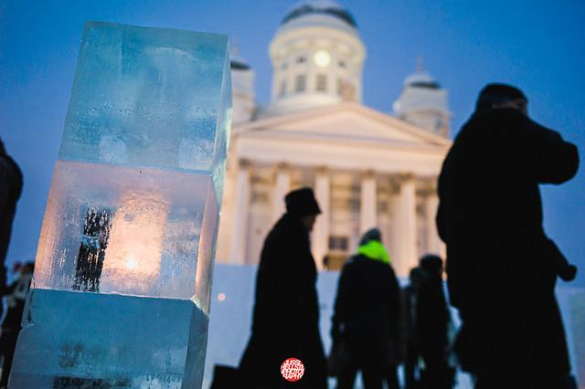 13/01/20 Ice Sculptures At Senate Square (old)
