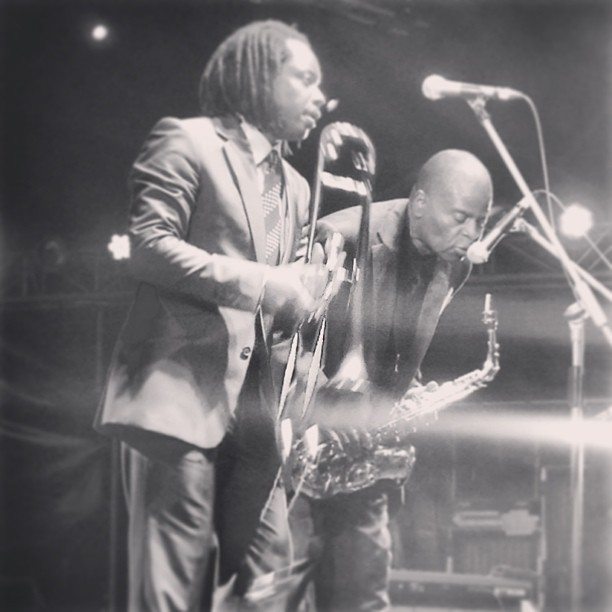 Dennis Rollins and Maceo Parker