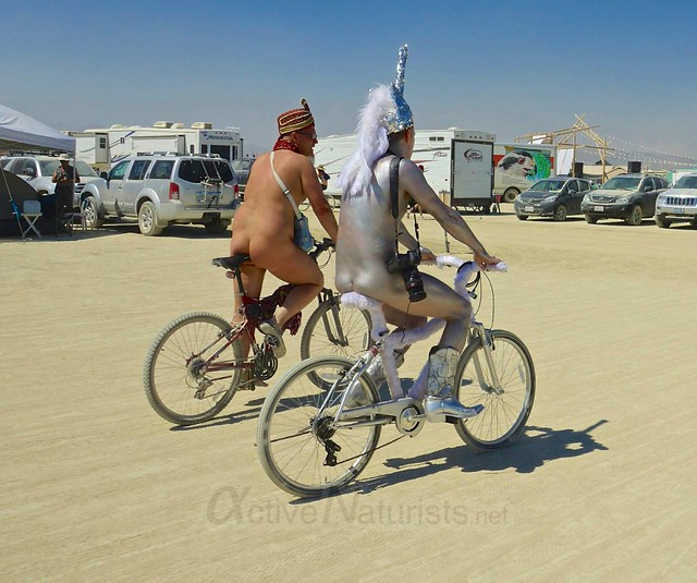 naturist 0024 Burning Man 2012, Black Rock City, NV, USA