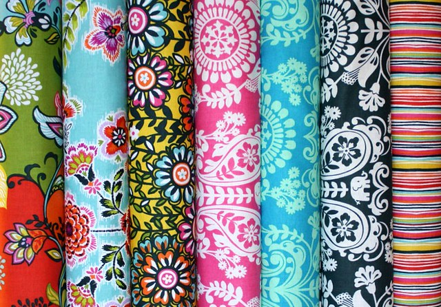 Friday's Fabric Giveaway with The Intrepid Thread -- Global Bazaar!!