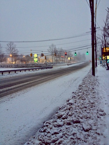 Route 9 in Framingham at 5:00 p.m. by Barbara L. Slavin