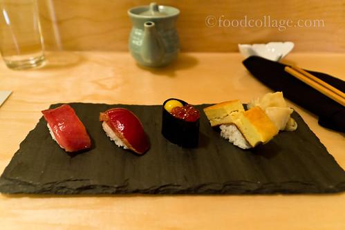 Chef's Choice 4 Piece NIgiri at Fukuda