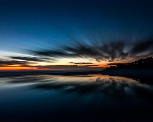 sunset sky lake reflection beach clouds landscape twilight florida places 30a bluemountainbeach redfishcircleaccess