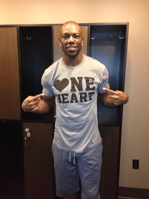 One Heart Shirt - Terrell Owens