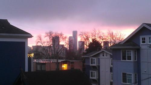 Pink V-Day sky by christopher575