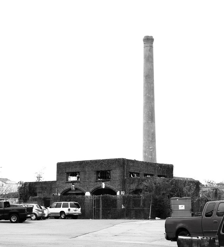 Incinerator, Former Jefferson Davis Hospital, Houston, Texas 1302101407BW