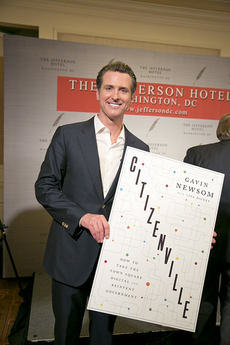 "2/15/13 - Book Party for Gavin Newsom's ""Citizenvillie"""