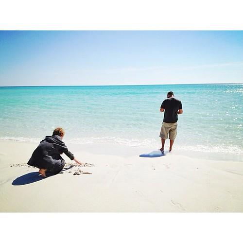 My men. #santarosabeach #florida