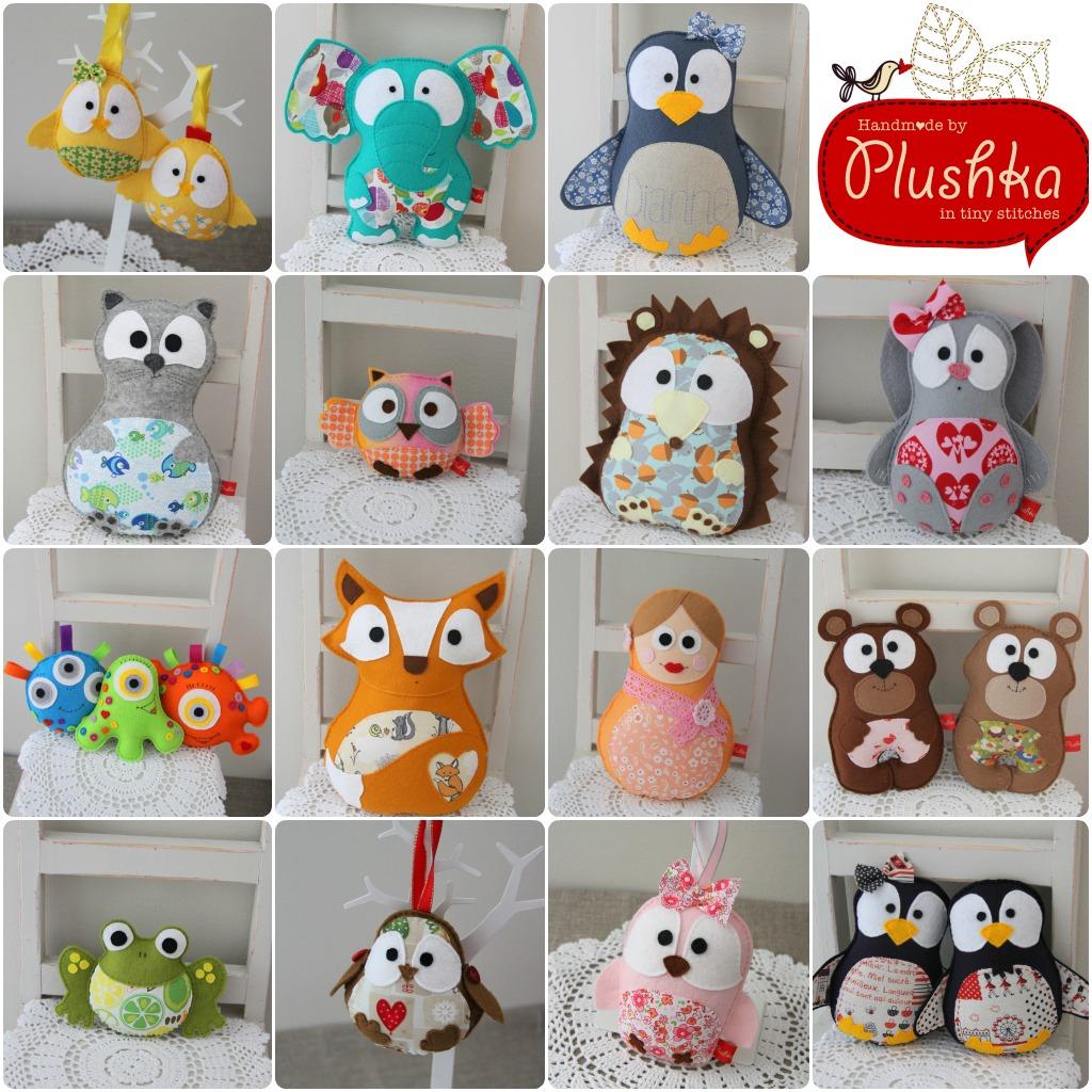 Plushka's toys