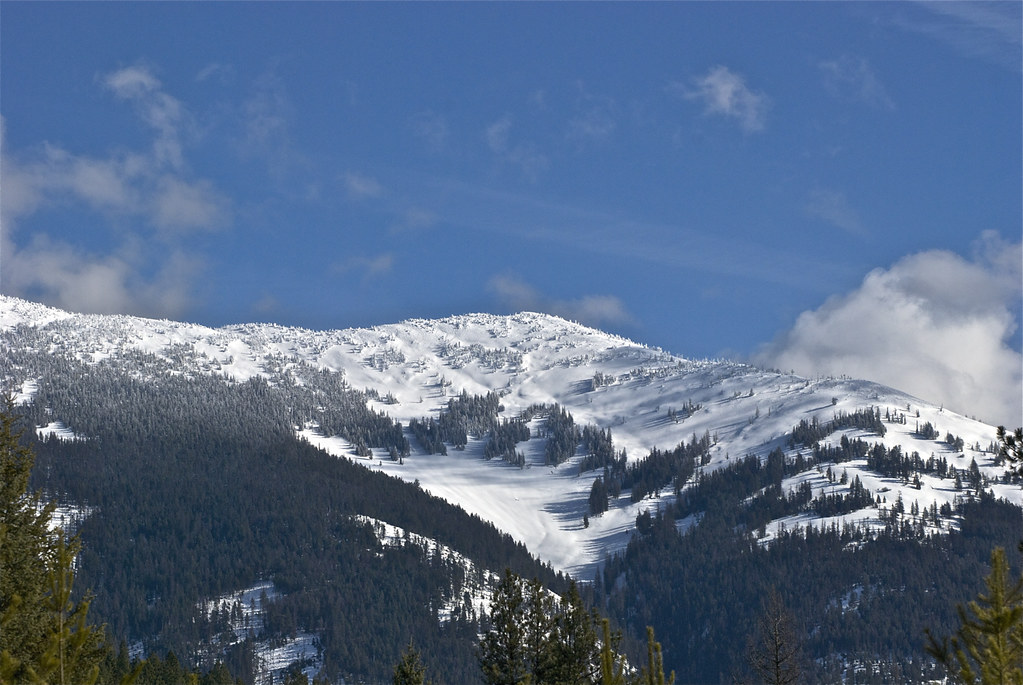Baldy Mountain in February